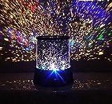 (エスシー アリアス)SC ARIAS 部屋 プラネタリウム イルミネーション 光 ライト 癒し 和み ムード 満天 イルミ 投影機 雰囲気 家庭用 (01 星空) -