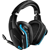 Logicool G Gaming Headset, Wireless, G933s Dolby 7.1 ch 3.5 mm USB LIGHTSYNC Noise…