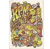 Rockin'Jelly Bean × RPM オフセットポスター ロッキンジェリービーン エロスティカ アールピーエム