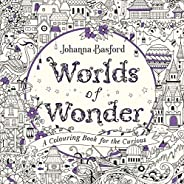 Worlds of Wonder: A Colouring Book for the Curious