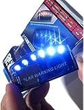 青光 撃退 ブルー 6LED スキャン セキュリティ ライト ソーラー 充電 衝撃 感知 盗難防止 ダミー セキュリティ…