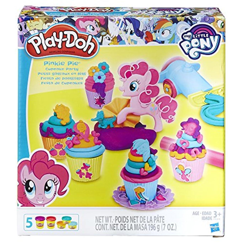 マイリトルポニー カップケーキ パーティー play-doh My Little Pony Pinkie Pie cup cake party