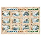 エトランジェ 2015年4月始まりポスターカレンダー B3 CLP43-B3-03 クラフト