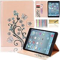 iPad Airケース、Dteck ( TM )スリムフィットレザースマートケースカバー[自動スリープ/スリープ解除機能] for Ipad Air ( iPad 5) 2013モデル 9.7 Inch 5024233