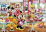 60ピース 子供向けパズル シルエットピース ディズニー スイーツショップへようこそ 【チャイルドパズル】