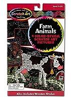 Melissa & Doug Farm Color-Reveal Pictures [並行輸入品]