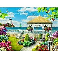 GlobEagle ダイヤモンド絵画 DIY風景 ロスステッチ刺繍 キットホーム壁の装飾 クラフト フルドリル