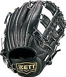 ZETT(ゼット) 野球 軟式 内野 グラブ(グローブ) ネオステイタス (右投げ用) BRGB31730 ブラック