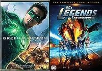 DC's Legends of Tomorrow: Season 1 + Green Lantern DVD Green Super Hero Movie Pack DC Comics