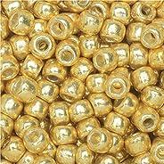 Toho Toho Round Seed Beads 8/0#PF557 'Galvanized Starlight' 8g Seed B