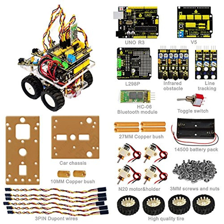 KEYESTUDIO デスクトップのBluetoothスマートカー for Arduino