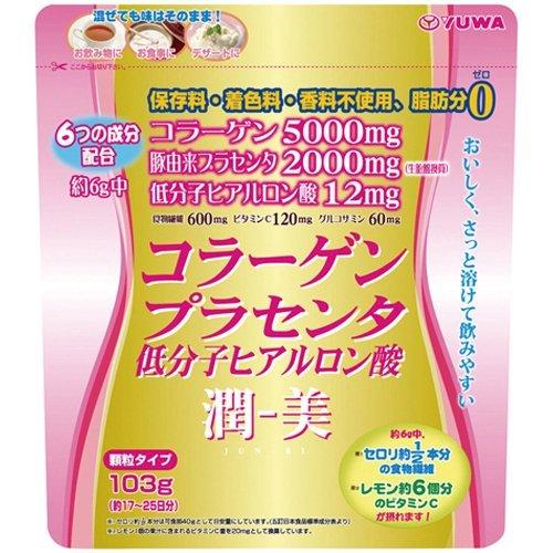 潤-美 コラーゲン・プラセンタ&低分子ヒアルロン酸...