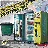 モンモデル 1/35 自動販売機とゴミ箱