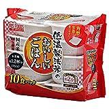 低温製法米のおいしいごはん 国産米100% 角型 180g×10パック