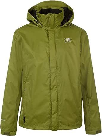 カリマー メンズ レインウェア 撥水加工 ウェザーライトジャケット トレッキング ハイキング 登山 Karrimor Mens Sierra Weathertite Jacket Mens New Khaki L
