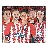 アトレチコマドリード(Atletico Madrid) オフィシャル 2018 卓上 カレンダー
