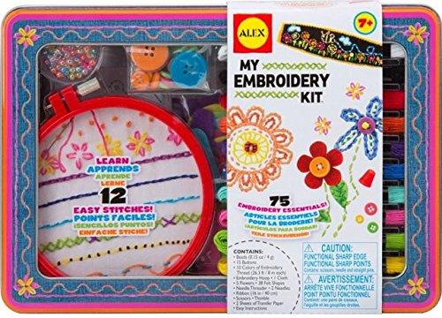 ALEX Toys マイエンブロイダリーキット 刺繍セット 裁縫セット 【日本語説明書付正規品】...