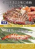特大海老18尾入【長さ約23cm】 【冷凍】 エビフライ 鉄板焼き 海鮮 バーベキューにおすすめ。