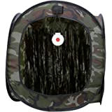 BESPORTBLE Hunting Tent Foldable Hunting Ground Blind Camouflage Portable Mute Target Tent for Hunting Shooting Accessories T