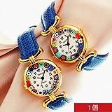 【イタリア お土産】ベネチアングラス 腕時計(イタリア 雑貨)