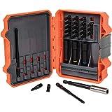 Klein Tools 32799 Impact Driver Bit Set, 26 Piece Nut Driver Bit Set with Case