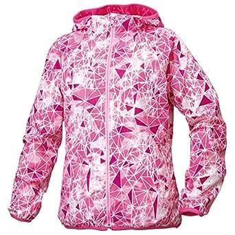(ミズノ)MIZUNO クロスティックウェア ウィンドブレーカーシャツ[ウィメンズ] 32ME5810 64 ファンダンゴピンク L