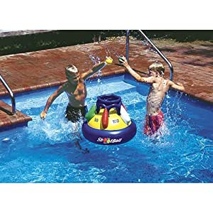 Shootball Floating Pool Basketball Game Pool Float Toy by Swimline