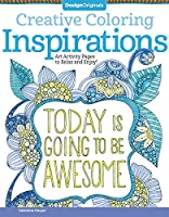 Inspirations Adult Coloring Book: Art Activity Pages to Relax and Enjoy! (Creative Coloring)