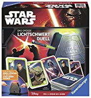 Ravensburger Games 21209 - STAR WARS: the large Lightsabre Duel, Action and Game of skill