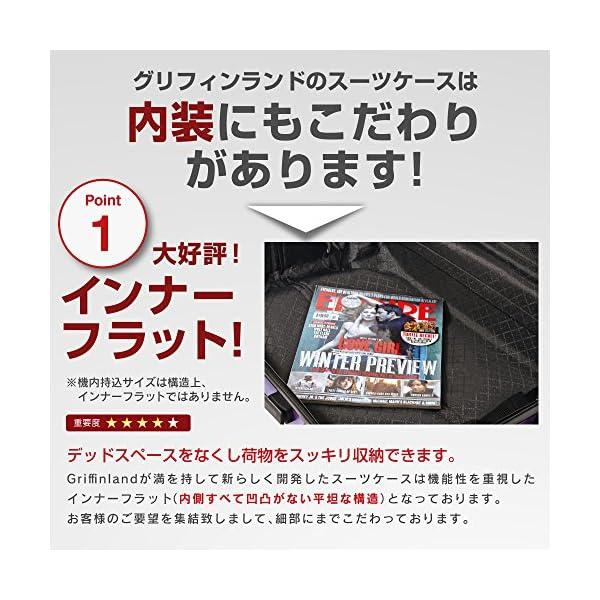 S型 ホワイト/newFK10371 スーツケ...の紹介画像4