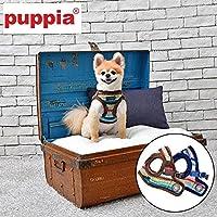 puppia正規販売店   pard-hb1580 胴輪 ソフトベストハーネスB サイズ XS・S・M・L L,NAVY