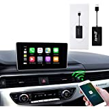 carlinkit carplay dongle Original car Wireless carplay Activation Adapter for Audi A4 Q7 Radio with Wired carplay Support Ste