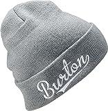 Burton(バートン) スノーボード ニット帽 ビーニー ニットキャップ 3D BURTON BEANIE 1SZ FITALL Monument 176551 日本製