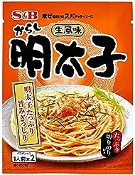S&B 生風味スパゲッティソース からし明太子 53.4g