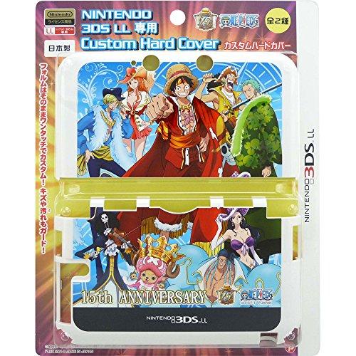 NINTENDO 3DSLL専用 ワンピース 15th ANNIVERSARY カスタムハードカバー Blue