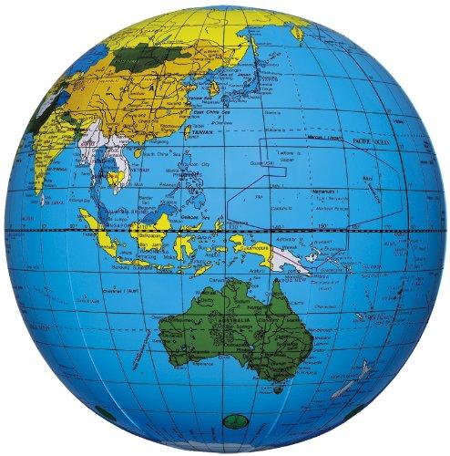 地球儀ボール (ブルー)