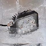 LEPOWER 作業灯 LEDワークライト IP67防塵防水 豪雨対応可 車 トラック 船舶 補助照明 12V~24V対応 1年保証 2種類 (27W)