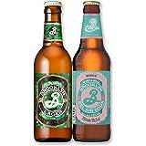 【Amazon.co.jp限定】 【ホワイトデーギフトに】 [6本入り][クラフトビール]ブルックリンブルワリー飲み比べセット ~ラガー&ベルエアサワー~ [ 330ml×3本, 355ml×3本 ]