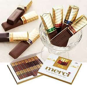 [賞味6/11] ドイツお土産 メルシー ゴールドチョコレート 1箱