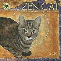Zen Cat 2020 Wall Calendar