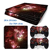 Hzjundasi 644# Body Sticker Decal Skin ステッカーデカールスキン For Playstation 4 PS4 Slim Console+Controllers