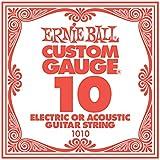 【国内正規輸入品】Ernie Ball アーニーボール #1010 バラ弦 10 6本セット