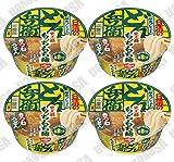 日清食品 日清のどん兵衛 限定プレミアムきつねうどん 史上最もっちもち麺 82gカップ 4食