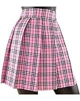 (KEEP YOU) タータンチェック スカート 全9色 丈約32~44cm 制服 スカート プリーツ スカート