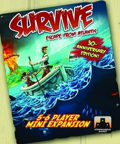 Survive: Escape from Atlantis! 5-6 Player Mini Expansion by Stronghold Games [Toy] [並行輸入品]