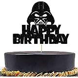 Anxdh alien war cake topper decoration children birthday party decoration, alien war theme party