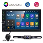 Standard Double 2 Din Android 7.1 In Dash Car Stereo Radio GPS Navigation Octa Core 2GB RAM 32GB ROM Support 4G WIFI...