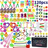 Amy&Benton 120PCS Toys for Kids Party Favours Supplies Birthday Gift Pinata Fillers Children Carnival Prizes School Reward