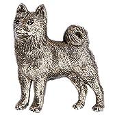 柴犬 (シバ イヌ) イギリス製 アート ドッグ ブローチ コレクション