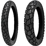 SHINKO E705 90/90-21・E705 150/70-17 バイクタイヤ 2本セット 70599021_157017